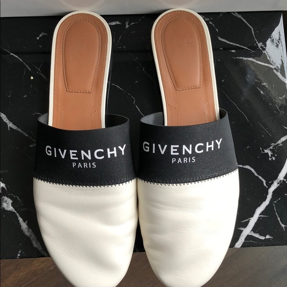 Givenchy 2018 Bedford Leather Mules clearance order cheap outlet store clearance for nice cheap sale best store to get 6wEs6y9